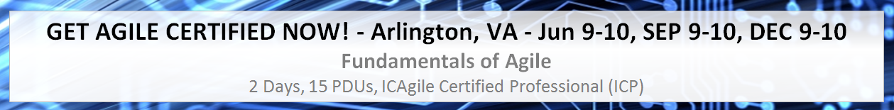 2015 Coveros Agile Certification Classes