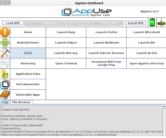 AppUse Dashboard