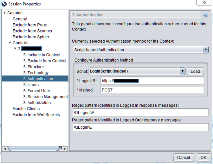 Scripting Authenticated Login within ZAP Vulnerability Scanner