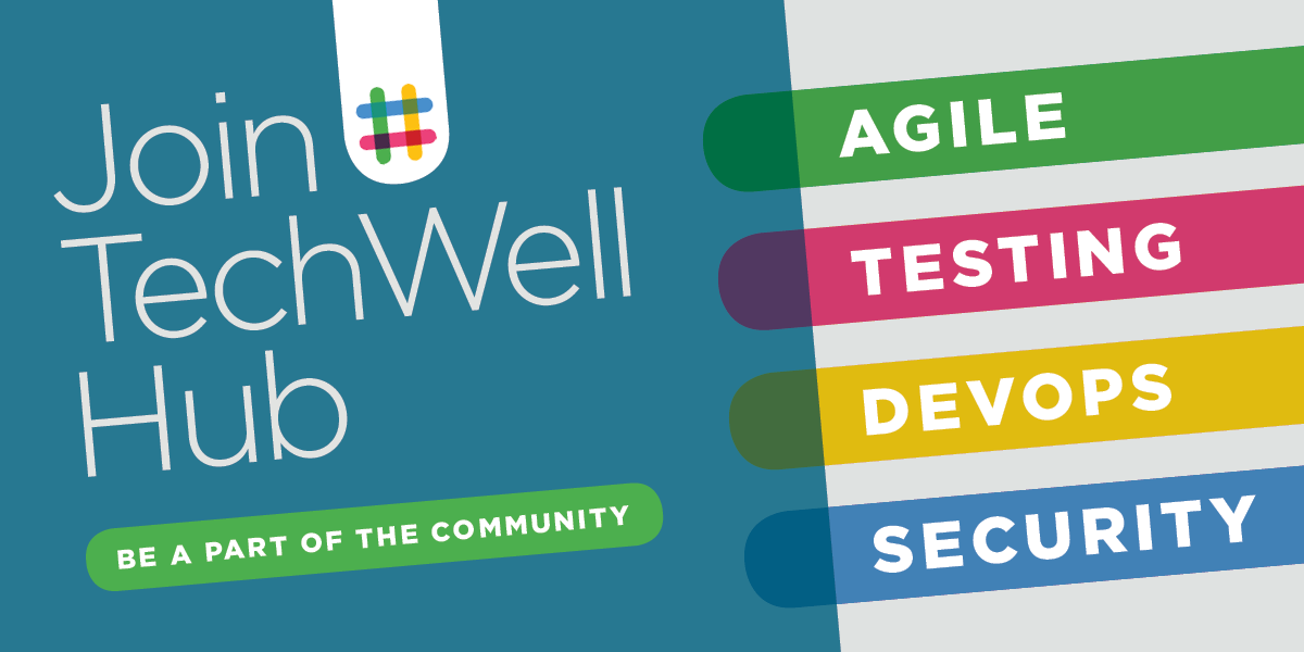 TechWell Hub Promo