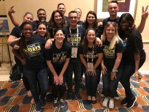 TechWell team poses at Agile Testing Days USA 2018