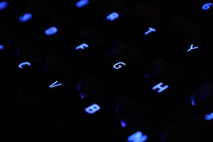 abstract backlight black
