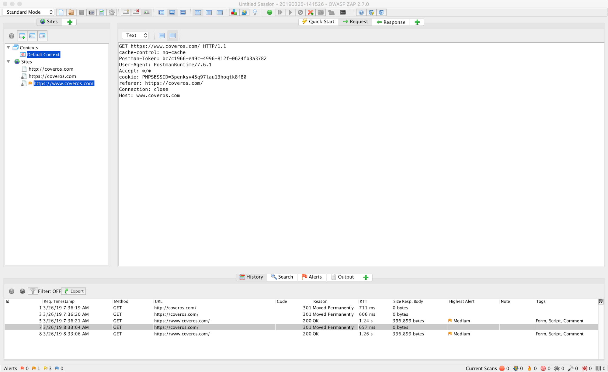 How to Configure Postman to use OWASP ZAP as a Proxy - Coveros