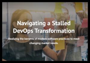 Navigating a Stalled DevOps Transformation guide